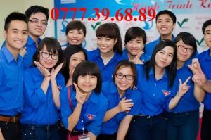 Đồng phục áo đoàn - Sinh viên tình nguyện